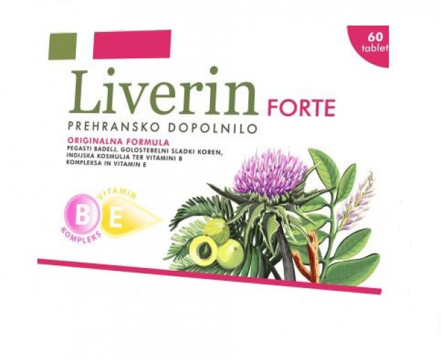 Liverin forte, 60 tablet