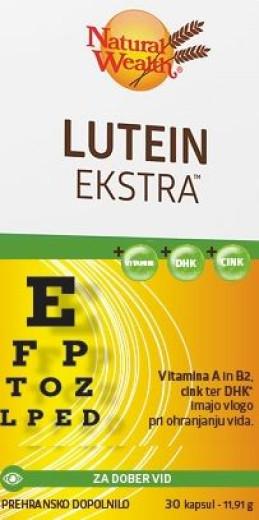 Natural Wealth Lutein Ekstra, 30 kapsul