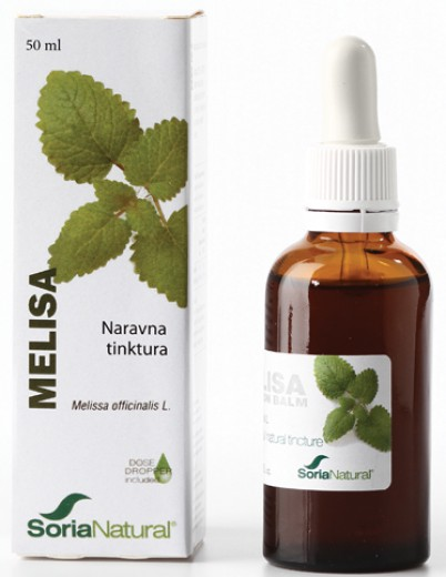 Soria Natural Melisa, kapljice, 50 ml