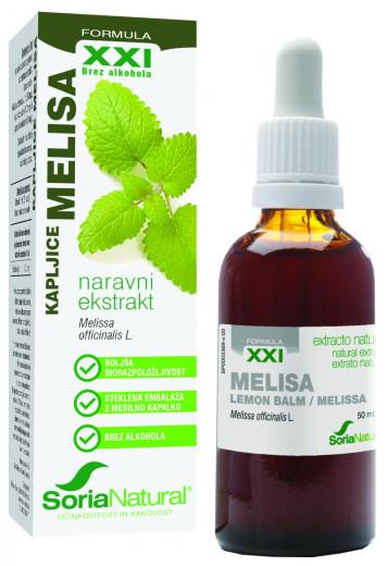 Soria Natural, Melisa XXI kapljice, 50 ml
