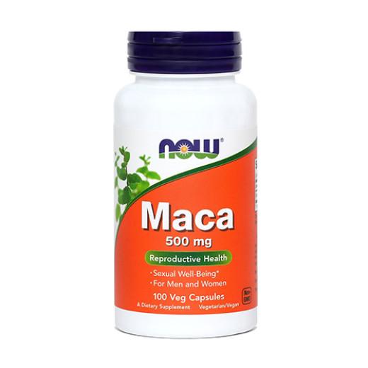 NOW Maca 500 mg, 100 kapsul