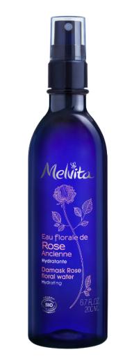 Melvita Cvetna vodica damaščanske vrtnice s pršilko, 200 ml