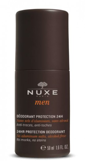 Nuxe Men 24-urni deodorant zaščitni roll-on, 50 ml