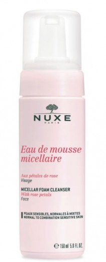 Nuxe Rosa Demascana micelarna čistilna pena, 150 ml