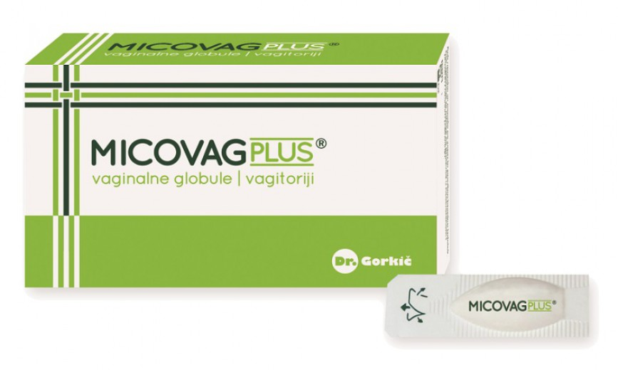 Micovag Plus, 10 vaginalnih globul