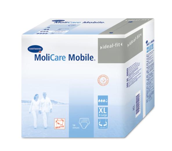 Molicare Mobile XL, 14 inkontinenčnih hlačk