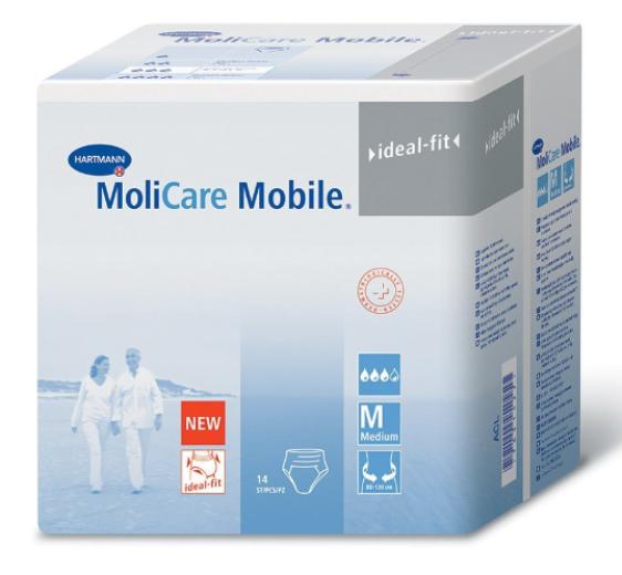 Molicare Mobile L, 14 inkontinenčnih hlačk
