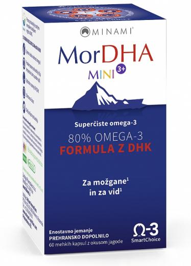 MorDHA Mini 3+, 60 mehkih kapsul