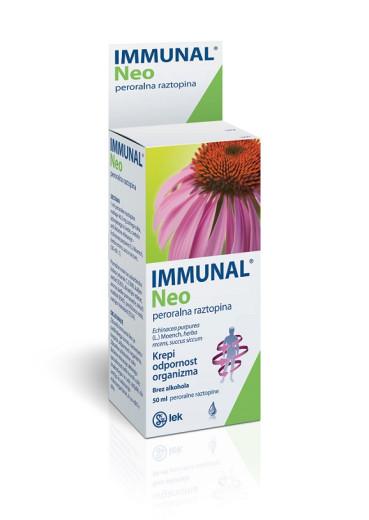 Immunal Neo, peroralna raztopina, 50 ml