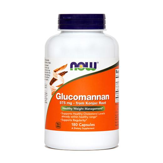 NOW Glukomanan 575 mg, 180 kapsul