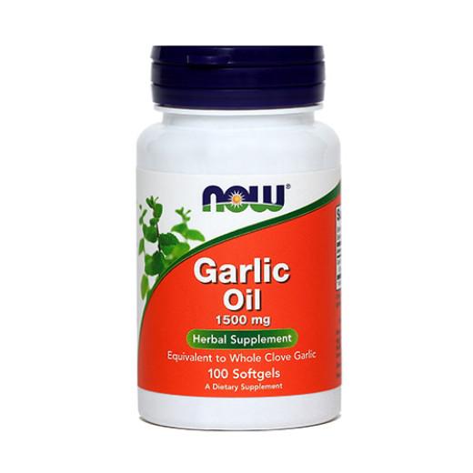 NOW Česen 1500 mg, oljni izvleček, 100 mehkih kapsul