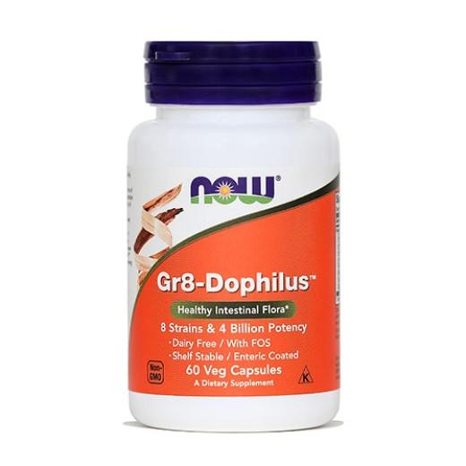 NOW Gr8-Dophilus, 60 kapsul