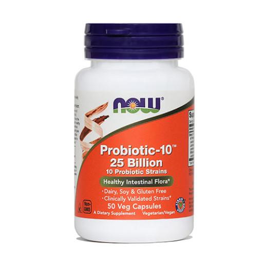 Now Probiotic-10 25 milijard, 50 kapsul