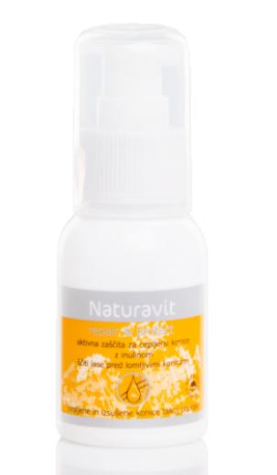 Naturavit, olje repair & protect za cepljene konice las, 50 ml