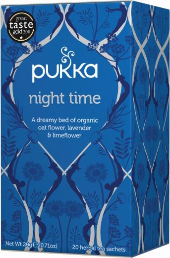 Pukka Night Time, ekološki čaj, 20 vrečk