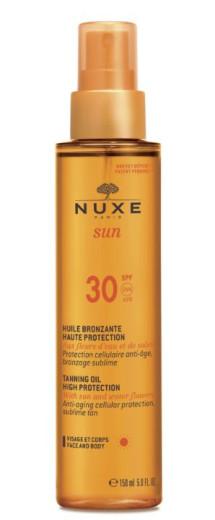 Nuxe Sun olje za obraz in telo -  ZF 30, 150 ml