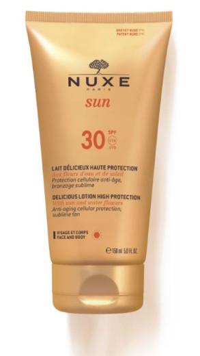Nuxe Sun mleko za obraz in telo -  ZF30, 150 ml