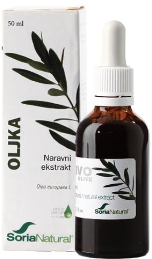 Soria Natural Oljka, kapljice  50 ml