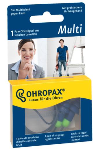 Ohropax Multi, ušesni čepki - 1 par