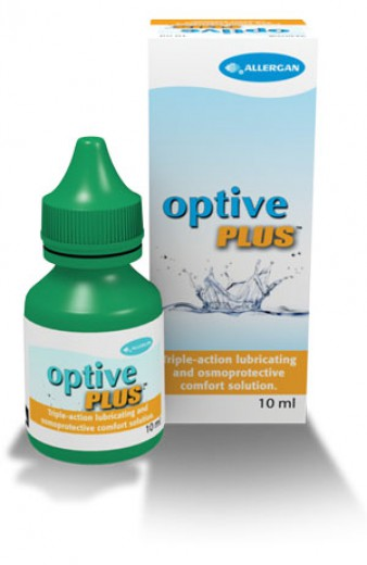 Optive Plus, kapljice za oči, 10 ml