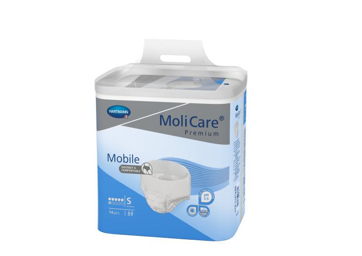 Molicare Premium Mobile 6D - S, 14 inkontinenčnih hlačk
