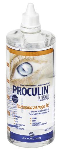 Proculin Lens, tekočina za leče, 400 ml