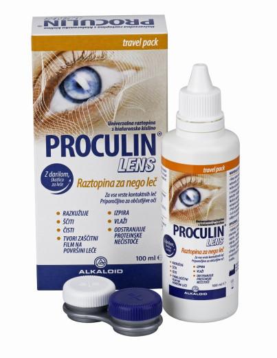 Proculin Lens, raztopina za nego leč, 100 ml