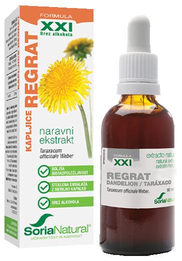 Soria Natural, Regrat XXI kapljice, 50 ml