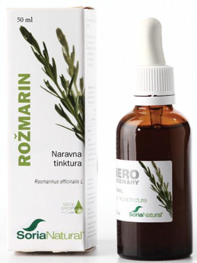 Soria Natural Rožmarin, kapljice, 50 ml