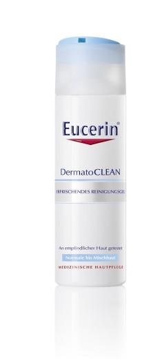 Eucerin DermatoClean, osvežujoč čistilni gel, 200 ml
