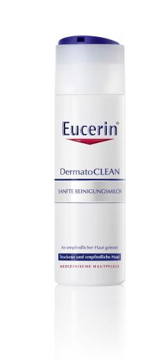 Eucerin DermatoClean, blago čistilno mleko, 200 ml