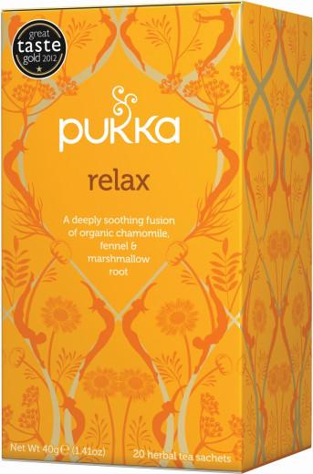 Pukka Relax, ekološki čaj, 20 vrečk