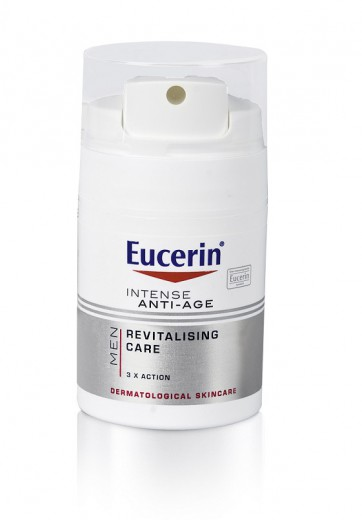 Eucerin Men, anti-age krema za moške, 50 ml