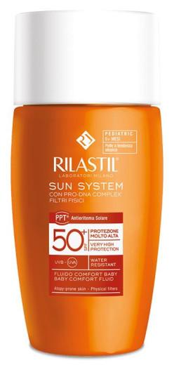 Rilastil Baby Sun System pediatrično zaščitno mleko - ZF50+, 50 ml