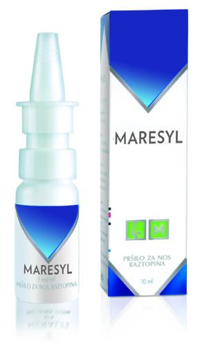 Maresyl 1 mg/ml, pršilo za nos, raztopina, 10 ml