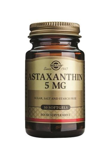 Solgar Astaksantin 5 mg, 30 kapsul