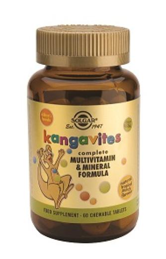 Solgar Kangavites, 60 žvečljivih tablet