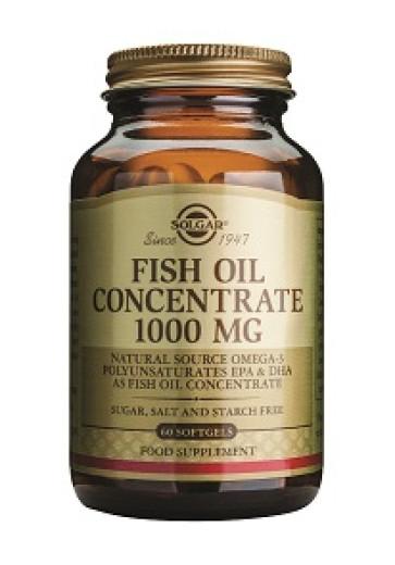 Solgar Koncentrat ribjega olja 1000 mg, 60 kapsul