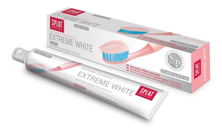 Splat Extreme White, zobna pasta, 75 ml