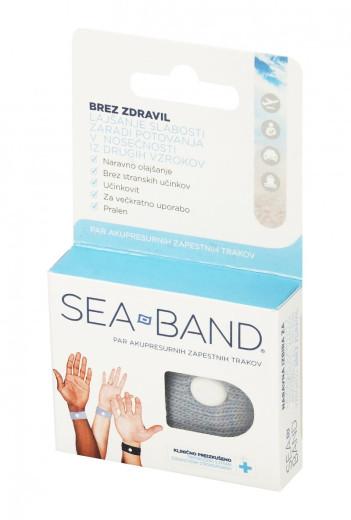 Sea Band, zapestnica za lajšanje slabosti, 2 kosa