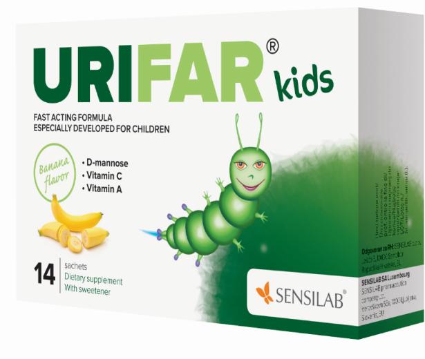 Sensilab Urifar Kids, 14 vrečk