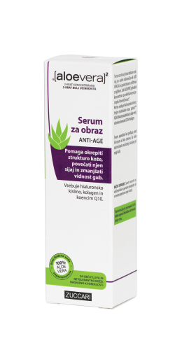 Aloe Vera X2, Anti-age serum za obraz, 30 ml