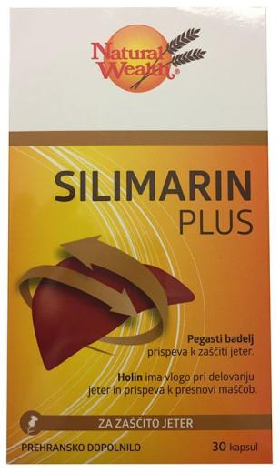 Natural Wealth Silimarin Plus, 30 kapsul