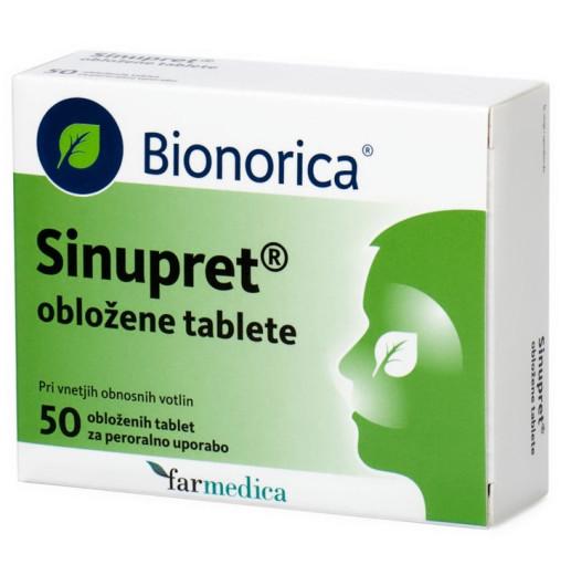 Sinupret, 50 obloženih tablet
