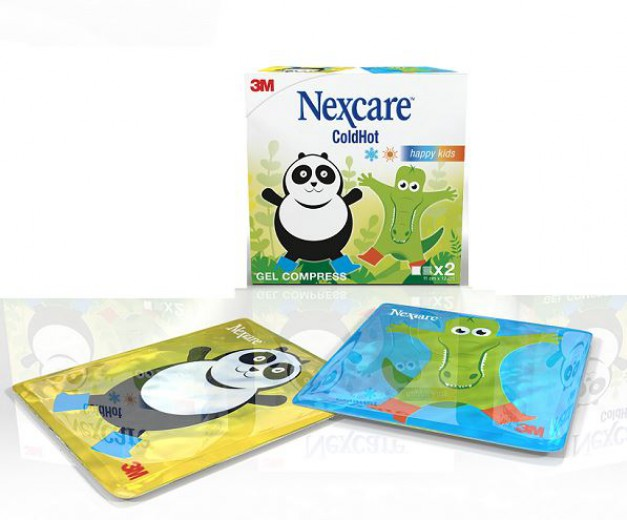 Nexcare ColdHot Happy Kids, 2 kosa