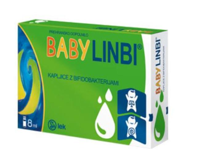 Baby Linbi, kapljice za otroke, 8 ml