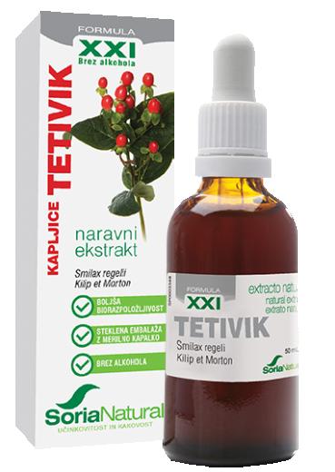 Soria Natural Tetivik XXI kapljice, 50 ml