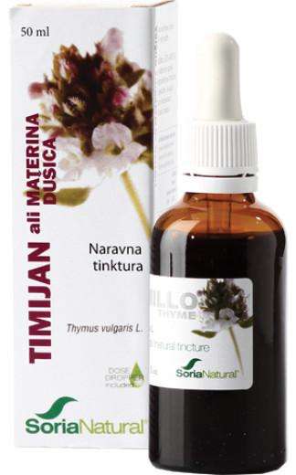Soria Natural Timijan ali Materina dušica, kapljice, 50 ml
