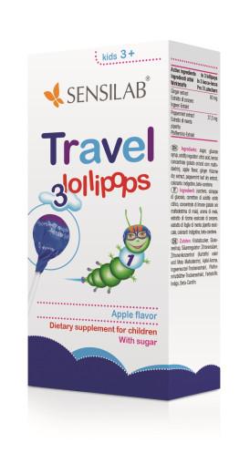 Sensilab Travel Lollipops, 3 lizike