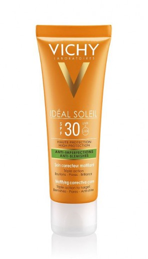 Vichy Ideal Soleil anti-acne - ZF 30,  50 ml